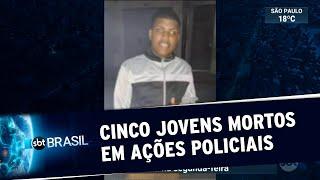 RJ: Cinco jovens morrem em operações policiais em uma semana   SBT Brasil (22/05/20)
