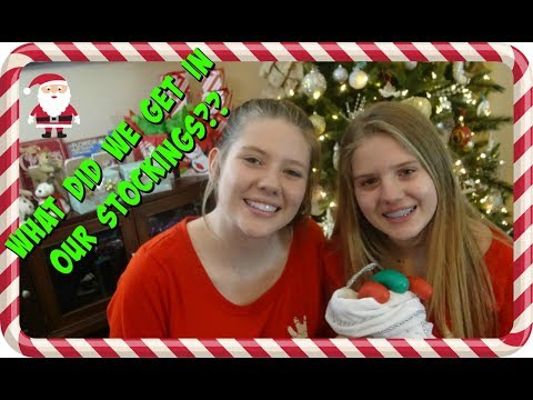 connectYoutube - CHRISTMAS EVE 2017    WHAT DID WE GET IN OUR STOCKINGS    Taylor and Vanessa