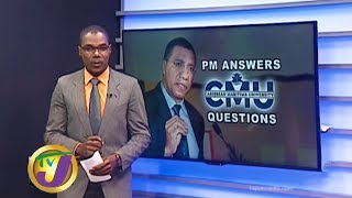 TVJ News: PM Answers Questions About Scandal Hit CMU - January 29 2020