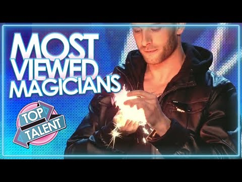 MOST Viewed Magician Auditions EVER on GOT TALENT | Top Talent