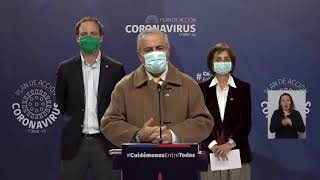 Gobierno actualiza cifras de coronavirus en Chile - Viernes 5 de junio 2020
