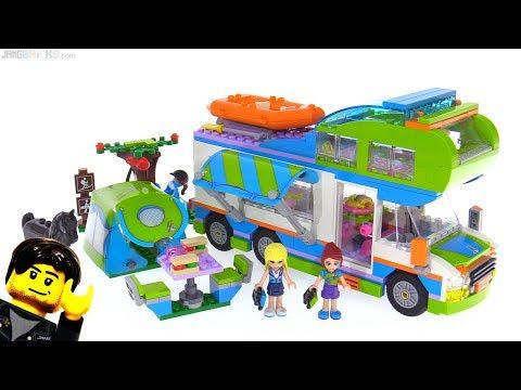 connectYoutube - LEGO Friends Mia's Camper Van review! 41339