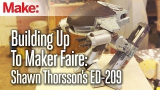 Building Up To Maker Faire: Shawn Thorsson's ED-209- Week 1