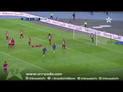 إتحاد طنجة 1-1 المغرب التطواني هدف أحمد شنتوف