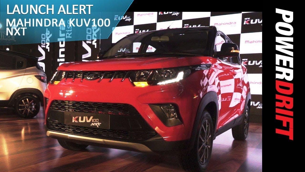 మహీంద్రా కెయువి100 ఎనెక్స్ట్ : launch alert : powerdrift