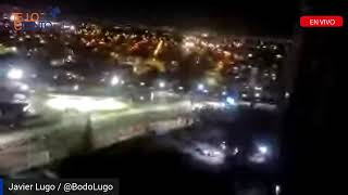 #ULTIMAHORA dos iglesias quemadas y varios negocios saqueados dejan las manifestaciones en Chile