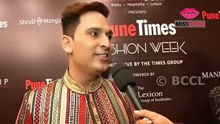 Vivz Finishing School presented Dressup by Pankaj Desai at Pune Times Fashion Week 2019