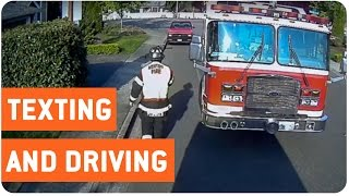 Texting and Driving Goes Wrong | Driving 101