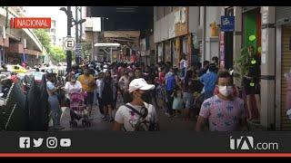 Este fin de semana se registró un fuerte movimiento comercial y vehicular en Guayaquil