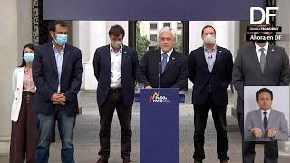 Ahora en DF  Presidente Piñera presenta hoja de ruta para los próximos 14 meses de Gobierno