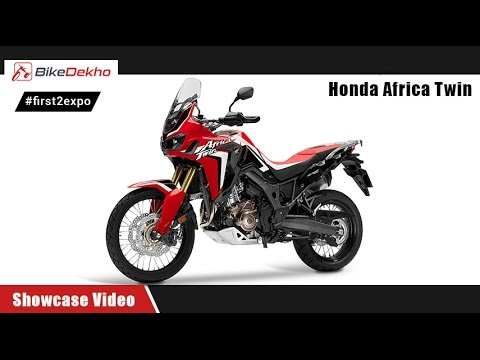 #first2expo : Honda Africa Twin | Showcase Video | BikeDekho@AutoExpo2016