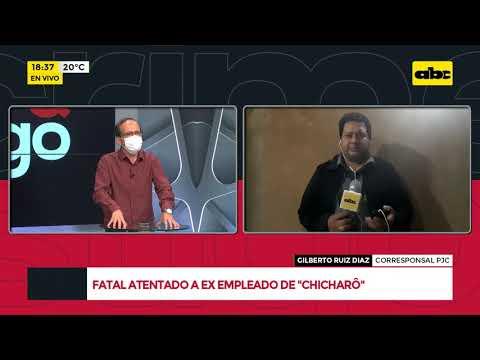 Fatal atentado a ex empleado de Chicharo