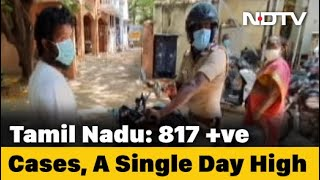 Tamil Nadu Records 817 New COVID-19 Cases, Biggest Single Day Spike - NDTV