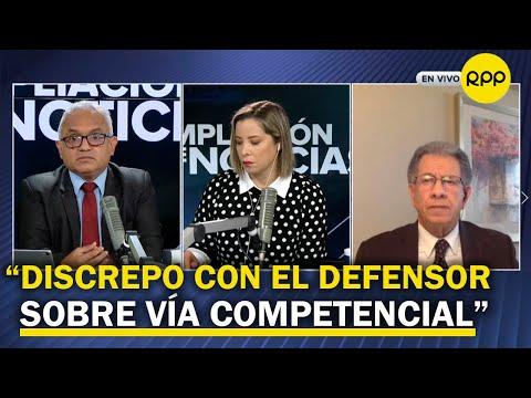 """Urviola sobre restos de Abimael Guzmán: """"En una semana, el Congreso podría darnos una solución"""""""