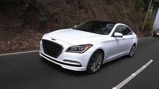 CNET On Cars - On the road: 2015 Hyundai Genesis 5.0