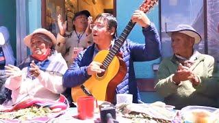 Así celebro el Presidente electo de Bolivia Luis Arce con la Comunidad Awichas