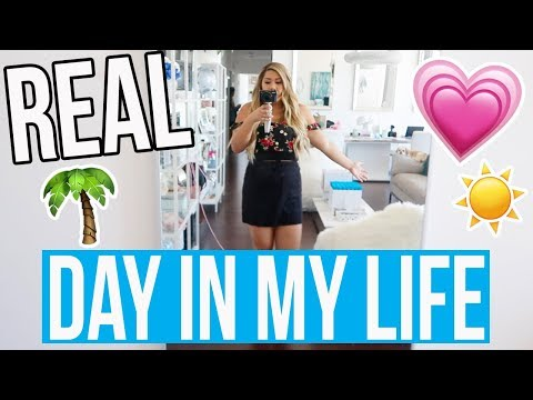 REAL DAY IN MY LIFE!!