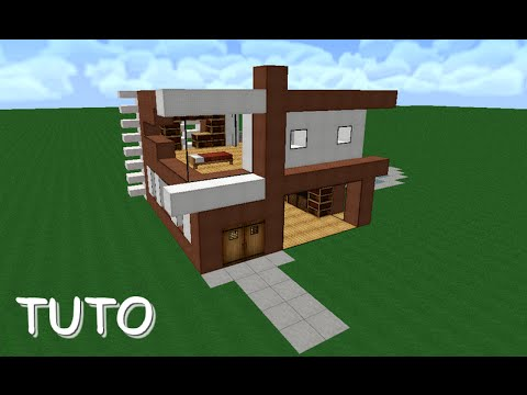 Pr sentation maison minecraft sur tablette download youtube mp3 - Comment faire une maison moderne minecraft ...