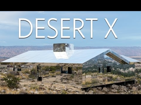 Desert X: Exploring the Mirror House