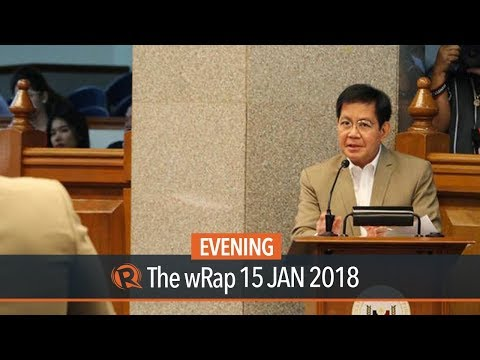 Lacson files Senate resolution to form constituent assembly
