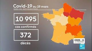 Coronavirus : en France, le seuil symbolique des 10 000 cas confirmés a été franchi