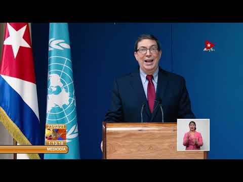 Cuba insta a internacionalizar cooperación frente a la Covid-19
