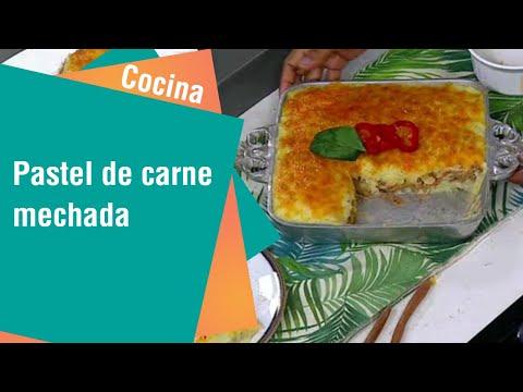 Receta de pastel de carne mechada | Cocina
