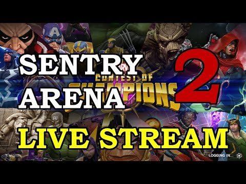 connectYoutube - Sentry Arena - Part 2   Marvel Contest of Champions Live Stream