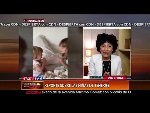 Milly Matos habla sobre aparición del cuerpo de una de las niñas raptadas por su padre en Tenerife