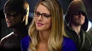 Emily Bett Rickards on the Arrow/ The Flash Crossover and Felicity's Dad