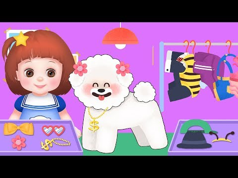 Baby Doli Pet puppy care play and baby doll toys play