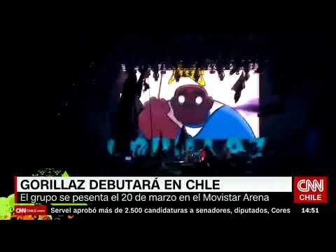 CNN: El debut de Gorillaz en Chile