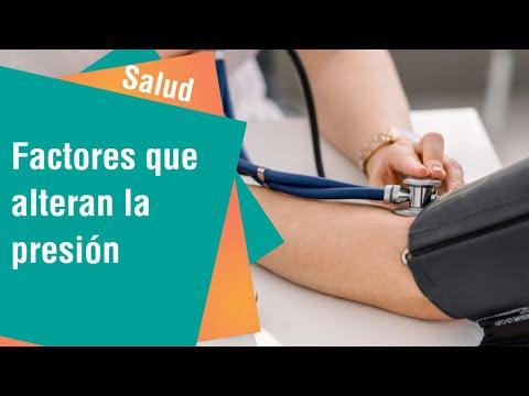 Factores que alteran la presión   Salud
