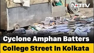 Campaign To Save Kolkata's Book Street, Wrecked By Cyclone Amphan - NDTV