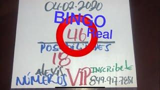 NÚMEROS PARA HOY 04 DE FEBRERO DEL 2020 - PARA JUGAR Y GANAR EN LAS LOTERÍAS.