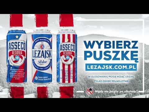 Zachęcamy pełnoletnich kibiców do głosowania na nową puszkę piwa LEŻAJSK
