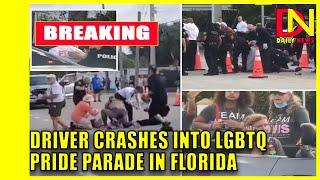 Driver crashes into crowd at LGBTQ Pride parade in Florida
