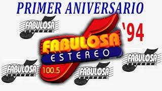 FABULOSA ESTEREO 1994 [PRIMER ANIVERSARIO] (Panamá Radio Histórica)
