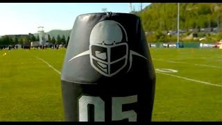 Pro football team testing robots in tackling drills (Tomorrow Daily 371)