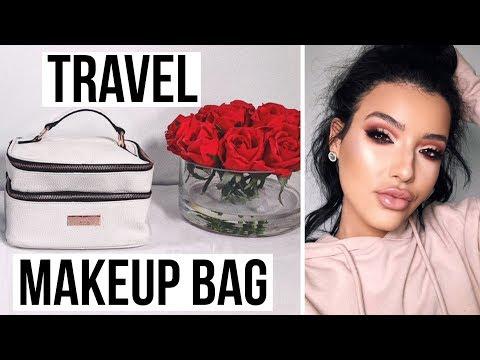 connectYoutube - ESSENTIALS EVERY GIRL NEEDS IN HER TRAVEL MAKEUP BAG   Amanda Ensing
