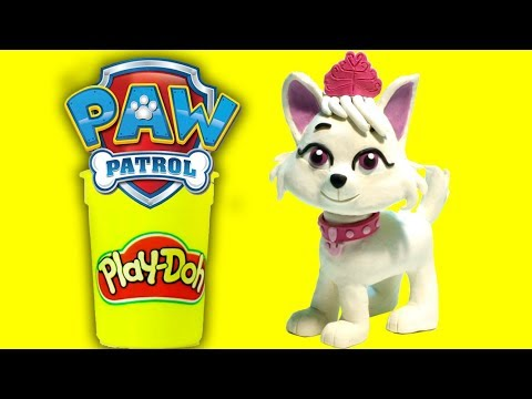 connectYoutube - Paw Patrol Sweetie character - Superhero Play Doh Cartoons & Stop Motion Movies for kids