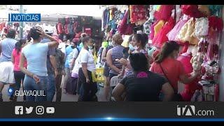 El comercio incrementó en diferentes sectores de Guayaquil