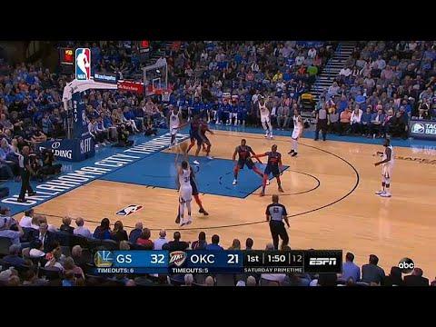بطولة كرة السلة الأمريكية: غولدن ستايت يفوز على أوكلاهوما