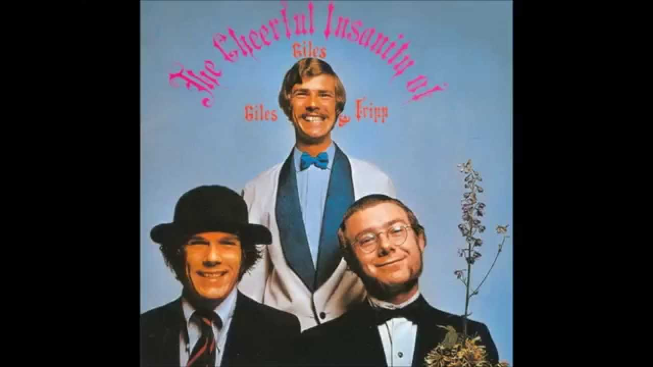 Giles, Giles & Fripp - Erudite Eyes lyrics on screen (1968)