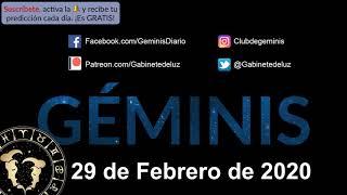 Horóscopo Diario - Géminis - 29 de Febrero de 2020