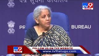 Nirmala Sitharaman Press Meet LIVE || 44th GST Council Meet - TV9 - TV9