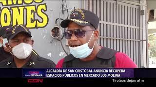 Alcaldía de San Cristóbal anuncia recupera espacios públicos en mercado Los Molina