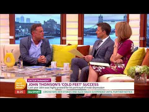 connectYoutube - John Thomson's 'Cold Feet' Success | Good Morning Britain