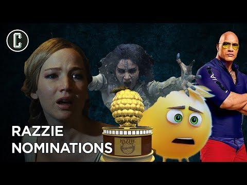 connectYoutube - The Razzies - Which Movies Sucked The Most In 2017?