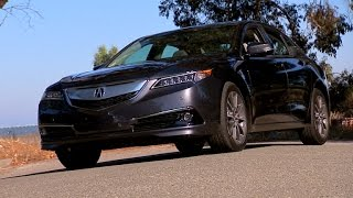 2015 Acura TLX V-6 Advance (CNET On Cars, Episode 54)